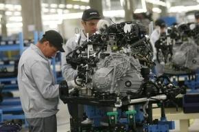 В Петербурге рабочие завода «Ниссан» отказались работать из-за жары
