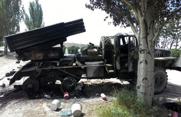 Территория Ростовской области была обстреляна украинскими «Градами»