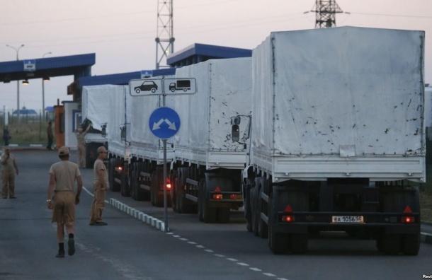 Москва отправит на Украину второй гуманитарный конвой