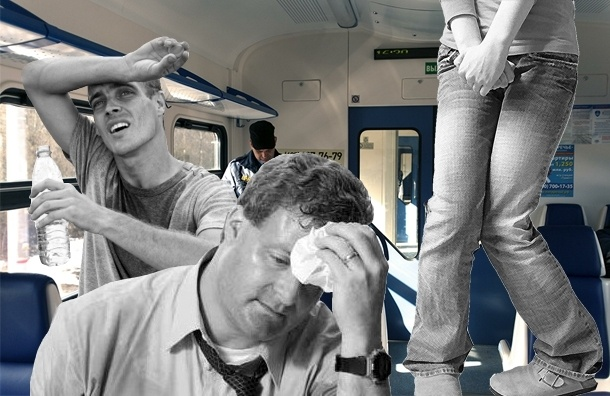 Пригородные поезда: без кондиционера и туалета