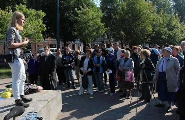 Екатерингофский округ вышел на народный сход против фальсификации выборов