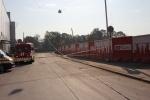 Фоторепортаж: «На Петроградке строительный кран упал на здание»