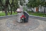 В Петербурге открылся сквер имени Ольги Берггольц: Фоторепортаж