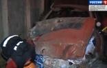 Фоторепортаж: «В Петербурге компания под бутиратом врезалась в забор на «Ауди»»