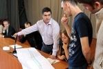 Общественные слушания по мосту на Крестовский: Фоторепортаж
