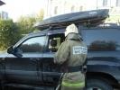 Во Владимире запертая девочка задохнулась в горящей машине: Фоторепортаж