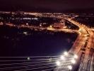 Фоторепортаж: ««Неуловимые кролики» забрались на  Вантовый мост»