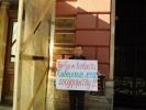 В Петербурге прошел пикет в защиту Сиверского леса: Фоторепортаж