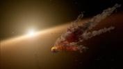 Фоторепортаж: «Телескоп Spitzer запечатлел следы от масштабной космической катастрофы»
