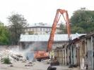 Фоторепортаж: «Застройщик сносит корпус Мытного двора без согласования КГИОП »