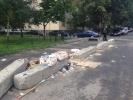 Фоторепортаж: «Мусорная куча у метро Проспект Просвещения»