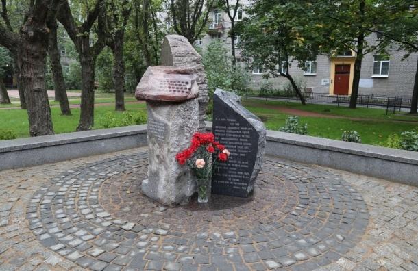 В Петербурге открылся сквер имени Ольги Берггольц
