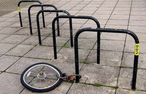 На Верейской спортсмен поймал с поличным велосипедного вора