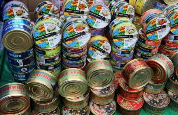 Петербург готовы снабжать продуктами 22 региона России