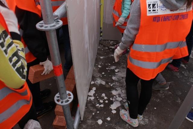 Общегородской школьный конкурс «Когда я вырасту – стану строителем»: Фото