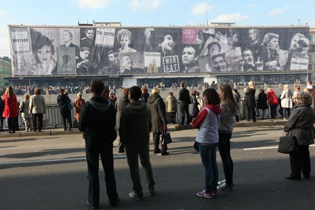 Открытие после реконструкции здания Большого драматического театра имени Товстоногова: Фото