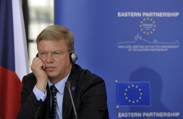 Еврокомиссар Штефан Фюле призвал Россию выйти из «виртуального мира»