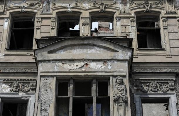 На Фонтанке прошел пикет против уничтожения исторического дома Зыкова
