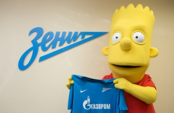 «Зенит» подписал звездного новичка Барта Симпсона