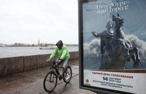 На выборы в Петербурге планируют прийти до 48% горожан