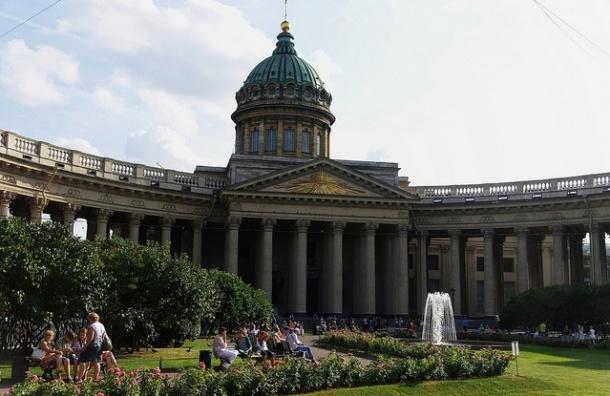 Стоимость реставрации Западной колоннады Казанского собора упала на 20%