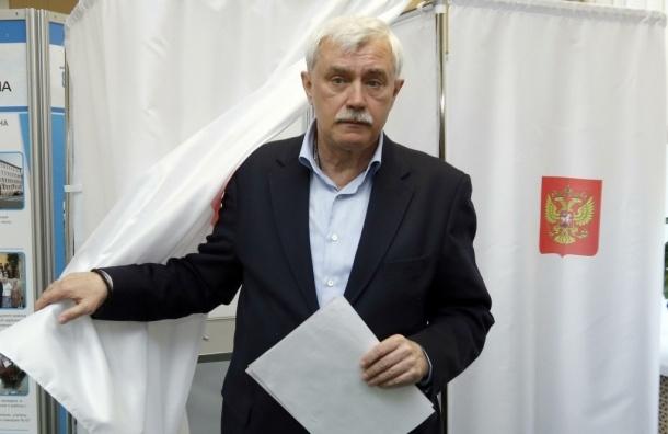 Рейтинг Полтавченко упал из-за нечестных выборов