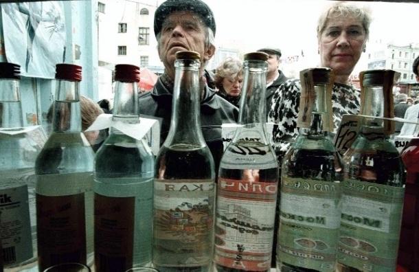 В Веселом поселке полиция изъяла нелегальный алкоголь