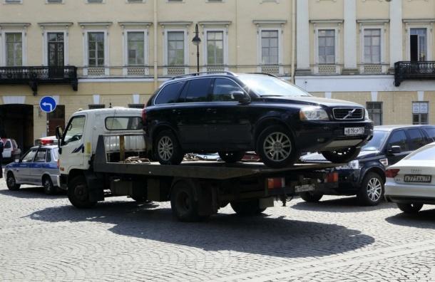 Штраф за неправильную парковку в Петербурге может составить 5000 рублей