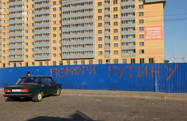 В Девяткино призывают помочь Путину