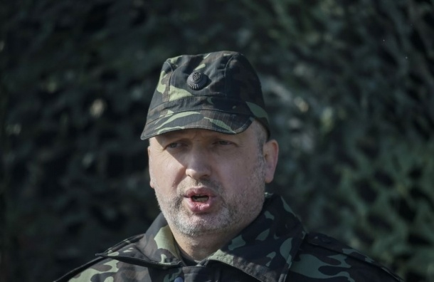 Турчинов призывает к «мобилизации всей страны: от запада до востока»