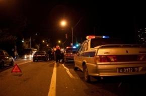 В массовом ДТП на КАД пострадали три человека