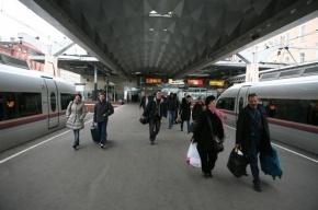 Четыре поезда и электрички задерживаются из-за аварии на станции Мга