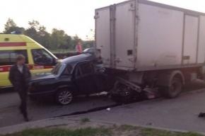 Два человека попали в реанимацию после массового ДТП на Луначарского