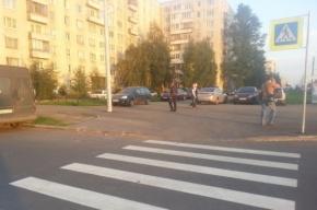 В Купчино строители новой улицы заблокировали въезд во дворы