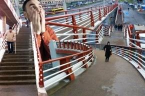 Жители Купчино просят демонтировать «переход-креветку»