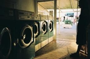 В США девочку спасли из включенной стиральной машины