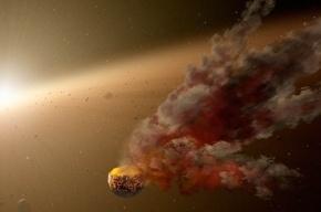 Телескоп Spitzer запечатлел следы от масштабной космической катастрофы