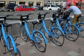 В Петербурге задержан похититель велосипеда из велопроката