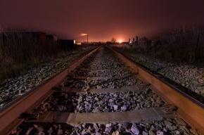 В Петербурге воры разобрали на металлолом рельсы на железной дороге