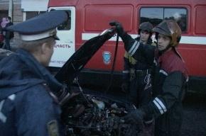 В ДТП с иномарками на проспекте Обуховской обороны пострадала 4-летняя девочка