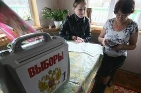 В Петербурге голосование на дому проходит под надзором полиции