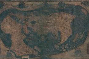 Ученые обнаружили скрытый текст на карте Христофора Колумба