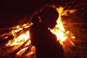Женщина с двумя детьми погибла на пожаре в Ленобласти