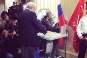 Полтавченко проголосовал за одного из кандидатов в губернаторы Петербурга