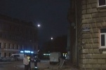 Фоторепортаж: «На Петроградке автобус снес ограду около собора»