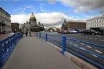 Капитальный ремонт Синего моста завершен досрочно: Фоторепортаж