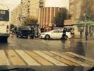 В Колпино в массовом ДТП пострадали три человека: Фоторепортаж