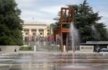 Фоторепортаж: «Сломанный стул в Женеве»