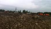 Несанкционированная свалка в Обухово выросла до 100 тысяч кубометров: Фоторепортаж