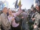 Фоторепортаж: «В столкновениях у здания Верховной Рады ранены 15 милиционеров»